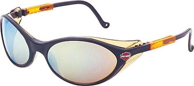 Harley-Davidson® HD 100 ANSI Z87.1 Safety Glasses, Blue Mirror