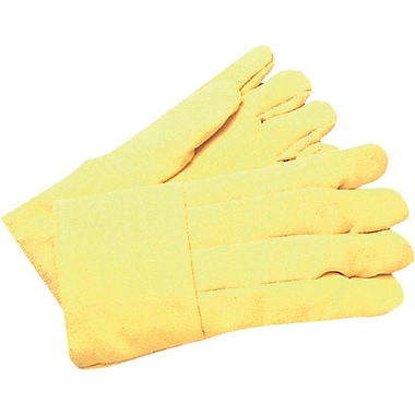 Anchor Brand® Kevlar® Standard High Heat Gloves, Large, Yellow
