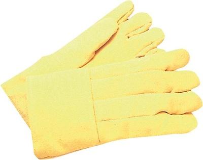 Anchor Brand® Specialized High Heat Gloves, Fiberglass, Large, Yellow, 1 Pair