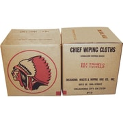 Oklahoma Waste & Wiping Rag No. 1 Cotton Wiping Rag, 25 lb/Box