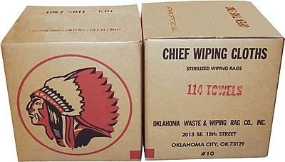 Oklahoma Waste & Wiping Rag Terry Cotton Turkish & Regular Mixed Towel, 25 lb/Box