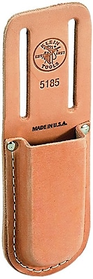 Klein Tools® Slotted Belt Leather Knife Holder, 1 Compartment, 8 1/4 in (H)
