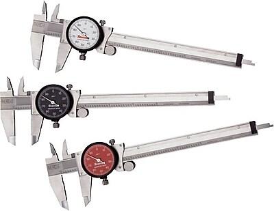 L.S. Starrett® SS Series 120 Dial Caliper, 0 - 6 in