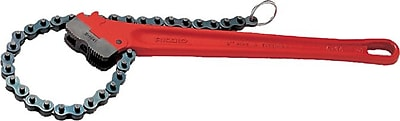 Ridgid® Cast Iron Chain Wrench, 18 1/2 in (L), 2 in Opening