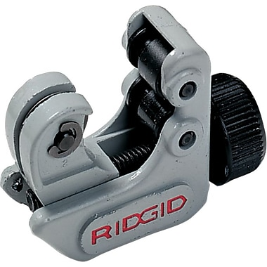 Ridgid® Close Quarters Midget Tube Cutter, 3/16 - 15/16 in (OD), 2 9/16 in (OAL)