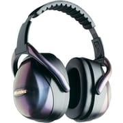 Moldex® SoftCoat® Steel Headband Premium M1 Earmuff, Iridescent Black, 29 dB