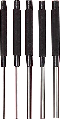 L.S. Starrett® Steel Drive Pin Punch, 8 in (L), 1/8 in Tip