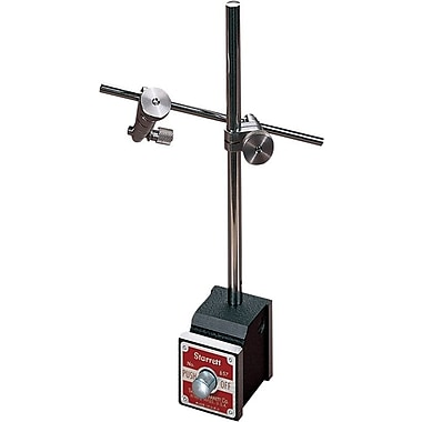 L.S. Starrett® Magnetic Base Indicator Holder, For Use With All Starrett Dial Indicators