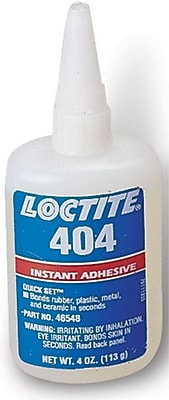 Loctite Quick Set Instant Surface Insensitive Adhesive 4 oz.