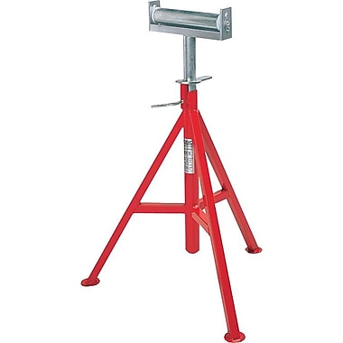 Ridgid® High Conveyor Head Pipe Stand, 29-44 in Height Adjustment, 12 in Pipe Capacity, 1000 lb