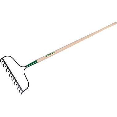 UnionTools® Steel Tine Bow Rake, 14 in (W) x 2.325 in (H) Blade, 60 in (L)