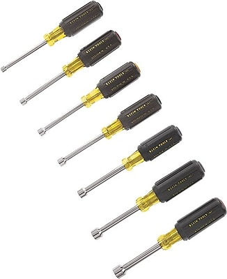 Klein Tools® 7 pcs Cushion Grip Nut Driver Set, 3 in (L) Shank