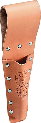 Klein Tools® Tunnel Belt Leather Holster Bull Pin Holder, 1 Compartment, 12 1/4 in (H)