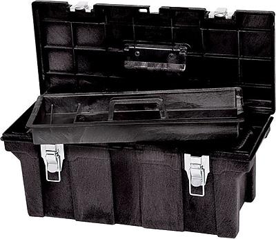 Rubbermaid® Black Structural Foam Durable Tool Box, 36 in (L) x 18 5/8 in (W) x 20 3/16 in (H)
