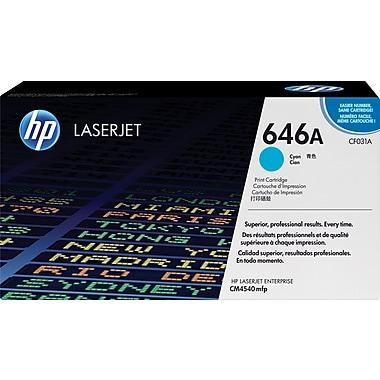 HP 646A (CF031A) Cartouche de toner HP LaserJet cyan d'origine