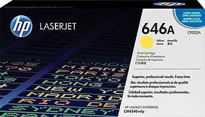HP 646A Yellow Toner Cartridge (CF032A)