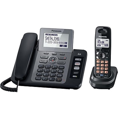 Panasonic KX-TG9471B DECT 6.0 Expandable Digital Cordless Answering System with Contact Sync