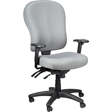 Tempur-Pedic TP4000 Ergonomic Fabric Mid-Back Task Chair, Grey