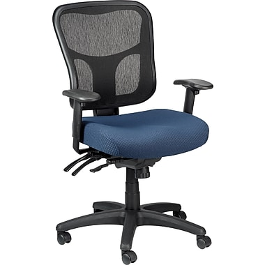 Tempur-Pedic TP8000 Ergonomic Mesh Mid-Back Task Chair, Navy
