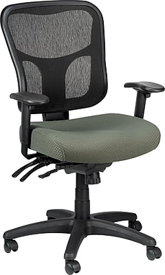 Tempur-Pedic TP8000 Mesh Computer and Desk Office Chair, Olive, Fixed Arm (TP8000-OLIVE)