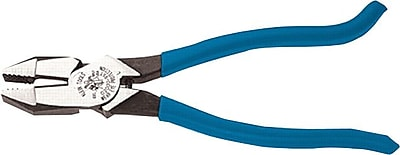 Klein Tools® Tool Steel High-Leverage 2000 Ironworker's Plier, 9 3/8 in (L)