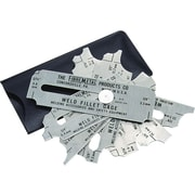 Fibre-Metal® Stainless Steel Blade Weld Fillet Gauge Set, 1/8 - 1 in