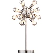 ZuoMD – Lampe de table à ampoule incandescente Pulsar, chrome