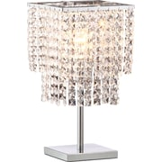 ZuoMD – Lampe de table à ampoule incandescente Falling Stars, cristal
