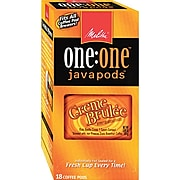 Melitta® One:One™ Crème Brule Coffee Pods, 18/Bx