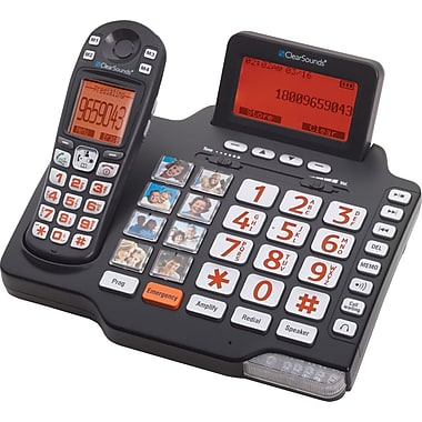 ClearSounds iConnect A1600BT Amplified Phone with Bluetooth Bundle