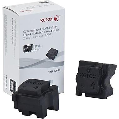 Xerox® 108R00993 ColorQube Black Solid Ink Sticks, 2/Pack