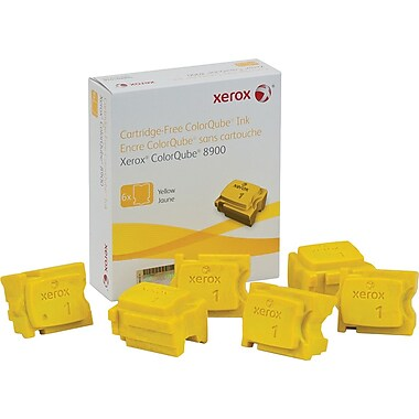 Xerox® 108R01016 ColorQube Yellow Solid Ink Sticks, 6/Pack