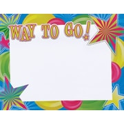 Great Papers® Way To Go Foil Certificate, 15/Pack