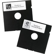 "Avery 5 1/4"" Diskette Laser Labels, Permanent, White"