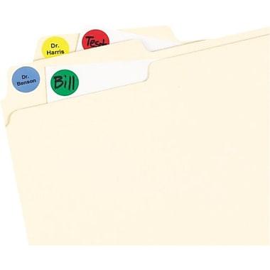 Avery® - Étiquettes à codage couleur rondes, 3/4 po