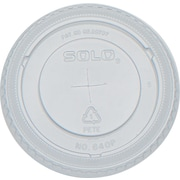 SOLO® Straw Slot Lids for Galaxy® Cold Cups, 12 oz., 2,500/Case