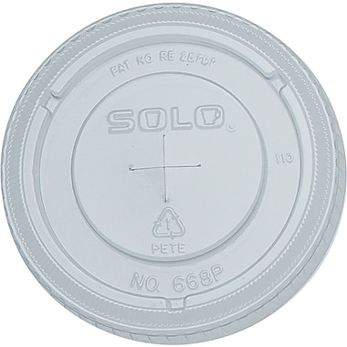 SOLO® Straw Slot Lids for Galaxy® Cold Cups, 16 oz., 1,000/Case
