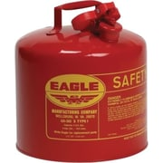 EAGLE Type I Flame Retardant Galvanized Steel Red Safety Can, 12.5 in (OD) x 13.5 in (H)