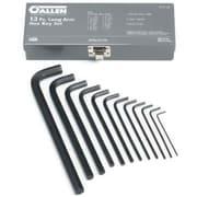 "Allen® Tools 13 Pieces Long Arm Hex Key Set, Alloy Steel, 1/16 - 1/2"""