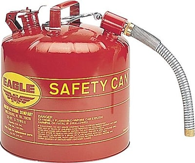 Eagle Type II Safety Can, 5 Gallons, 12