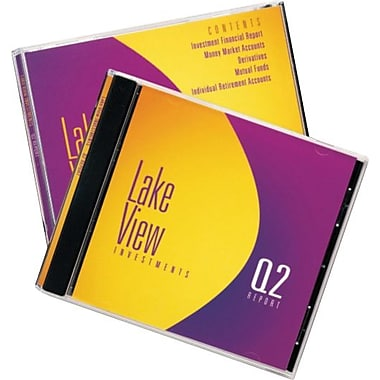 Avery 8693 Inkjet Jewel Case Inserts, 20 Front and Back Inserts, White