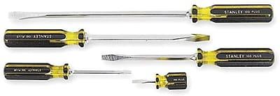 Stanley® 100 Plus® 5 Pieces Combination Screwdriver Set