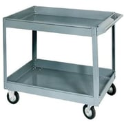 Jet® SC-2436 Two-Shelf Truck Service Cart, 500 lbs. Load, 32 in (H) x 24 in (W) x 36 in (L), Steel