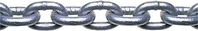 Campbell® Zinc Plated Low Carbon Steel Grade 30 Proof Coil Chain, 1/4 in, 141 ft (L)