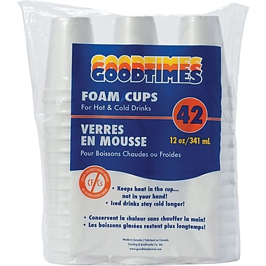 Goodtimes Foam Cups, 12 oz