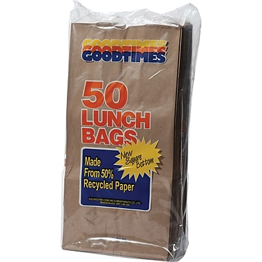 Goodtimes Brown Lunch Bags
