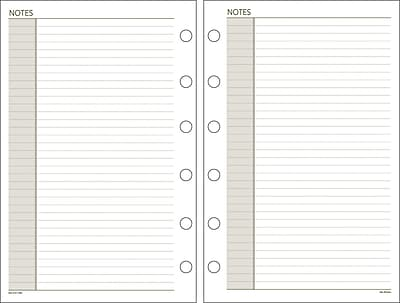 DayRunner® Recycled Notes Pages, 5-1/2