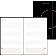 AT-A-GLANCE® Perfect-Bound Planning Notebook, Black, 5-1/8in. x 8-1/4in.