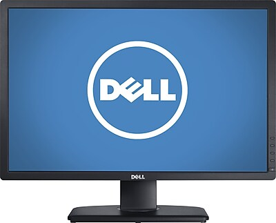 Dell UltraSharp 24u0022 Monitor Black  -  1920 x 1200 LCD display - 8ms response time - In-Plane switching panel - Widescreen (16:10)