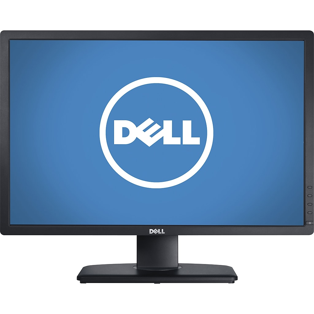 "Dell UltraSharp U2412M 24"" LED Monitor, Black"
